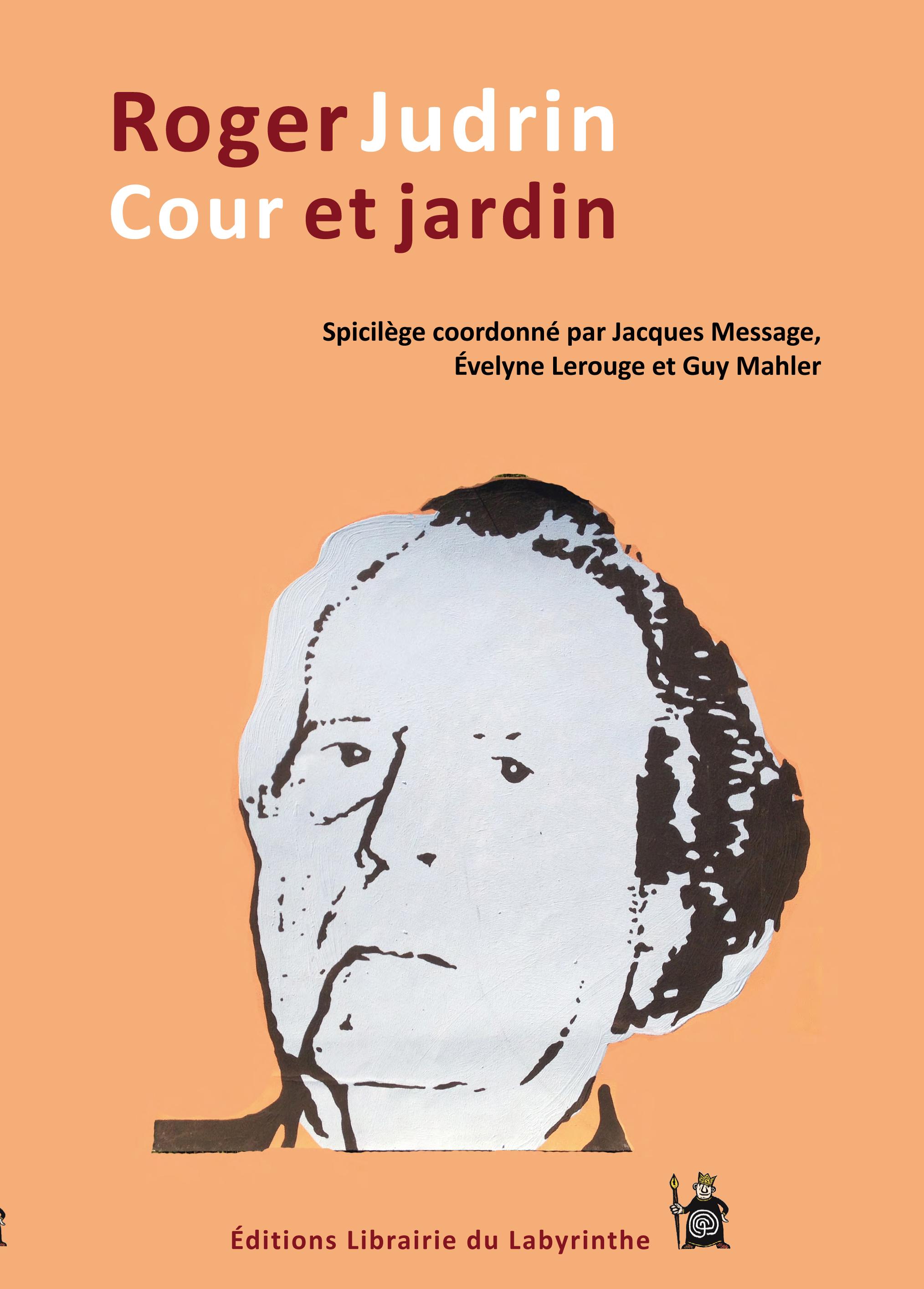 couverture du livre Roger Judrin cour et jardin