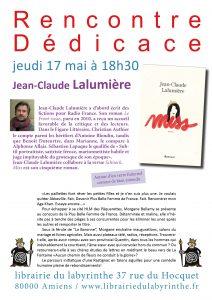 Jean Claude Lalumière dédicace